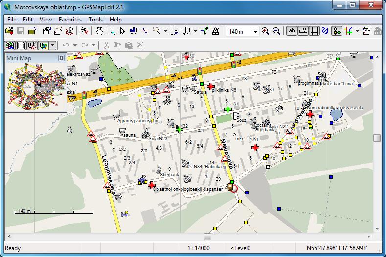Windows 10 GPSMapEdit full